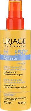 Spray solaire sans parfum pour enfants, SPF 50 - Uriage Suncare product — Photo N1