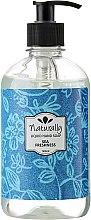 Parfums et Produits cosmétiques Savon liquide à l'huile de pamplemousse et thé vert pour mains - Naturally Hand Soap Sea Freshness