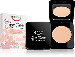 Parfums et Produits cosmétiques Poudre compacte pour visage - Equilibra Love's Nature Compact Face Powder