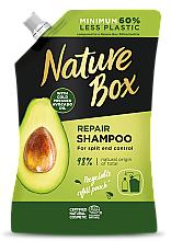 Parfums et Produits cosmétiques Shampooing à l'huile d'avocat pressée à froid - Nature Box Avocado Oil Shampoo Refill Pack (recharge)