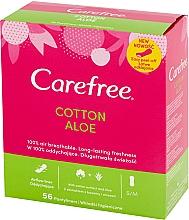 Parfums et Produits cosmétiques Protège-slips hygiéniques à l'extrait d'aloe vera - Carefree Cotton Aloe