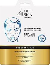 Parfums et Produits cosmétiques Masque tissu lissant à la bave d'escargot - Lift4Skin Sheet Mask Snail Mucin