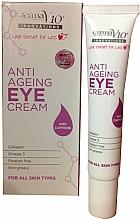 Parfums et Produits cosmétiques Crème à la caféine pour contour des yeux - Derma V10 Innovations Anti Ageing Eye Cream