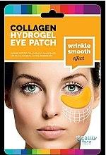 Parfums et Produits cosmétiques Patchs hydrogel à l'acide hyaluronique et or 24K pour contour des yeux - Beauty Face Collagen Hydrogel Eye Mask