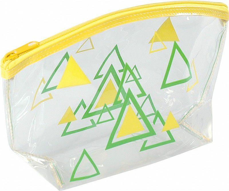 Trousse de toilette, 93517, jaune - Top Choice Triangles