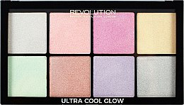 Parfums et Produits cosmétiques Palette d'enlumineurs - Makeup Revolution Ultra Cool Glow