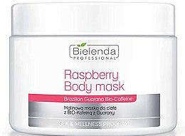 Parfums et Produits cosmétiques Masque à la framboise et guarana pour corps - Bielenda Professional Raspberry With Guarana Bio-Caffeine Body Mask