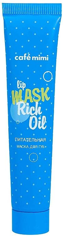 Masque nourrissant pour lèvres - Cafe Mimi Lip Mask Rich Oil