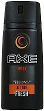 Parfums et Produits cosmétiques Déodorant spray pour corps - Axe All Day Fresh Musk Deodorant