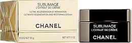 Parfums et Produits cosmétiques Crème régénérante à l'huile de vanille pour visage - Chanel Sublimage L'extrait De Creme