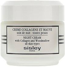 Parfums et Produits cosmétiques Crème au collagène et mauve - Sisley Creme Collagene Et Mauve Botanical Night Cream