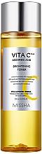 Parfums et Produits cosmétiques Lotion tonique éclaircissante à la vitamine C - Missha Vita C Plus Brightening Toner