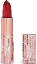 Parfums et Produits cosmétiques Rouge à lèvres mat - Nabla Cult Matte Soft Touch Lipstick