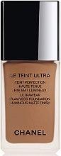 Parfums et Produits cosmétiques Fond de teint haute tenue fini mat lumineux - Chanel Le Teint Ultra Foundation SPF 15
