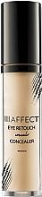 Parfums et Produits cosmétiques Correcteur crémeux pour contour des yeux, peaux sensibles - Affect Cosmetics Eye Retouch Concealer