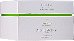 Parfums et Produits cosmétiques Bougie parfumée avec 3 mèches, Bergamote et Poivre noir - AromaWorks Harmony Candle 3-wick