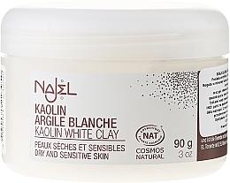 Parfums et Produits cosmétiques Argile blanche en poudre - Najel Clay In Powder White