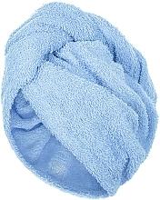 Parfums et Produits cosmétiques Serviette pour cheveux, bleu, 68x26cm - MakeUp