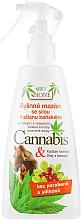 Parfums et Produits cosmétiques Spray à l'extrait de marron d'Inde et huile de chanvre pour pieds - Bione Cosmetics Cannabis Herbal Salve With Horse Chestnut