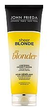 Parfums et Produits cosmétiques Après-shampoing aux agrumes et camomille - John Frieda Sheer Blonde Soin Demelant Eclaircissante Go Blonder