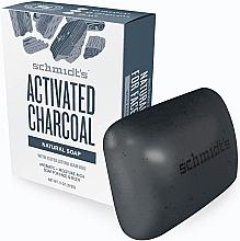 Parfums et Produits cosmétiques Savon naturel au charbon actif - Schmidt's Naturals Bar Soap Activated Charcoal