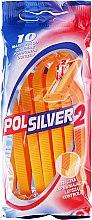 Parfums et Produits cosmétiques Lot de 10 rasoirs jetables - Polsilver 2