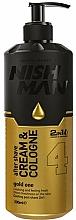 Parfums et Produits cosmétiques Crème-Eau de Cologne après-rasage - Nishman After Shave Cream Cologne 2in1 Gold One №04