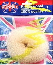 Parfums et Produits cosmétiques Donut cheveux, beige - Ronney Professional Bun Maker