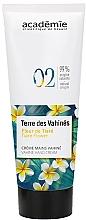 Parfums et Produits cosmétiques Crème à la fleur de Tiaré pour mains - Academie Hand Cream