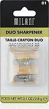 Parfums et Produits cosmétiques Taille-crayon double - Milani Duo Sharpener