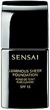 Parfums et Produits cosmétiques Fond de teint pure lumière - Kanebo Sensai Luminous Sheer Foundation