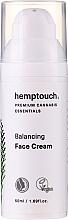 Parfums et Produits cosmétiques Crème à l'extrait de chanvre pour visage - Hemptouch Balancing Face Cream