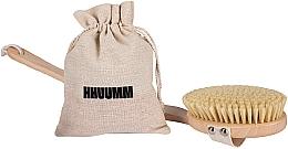 Parfums et Produits cosmétiques Brosse de massage sec pour corps, № 4 - Hhuumm