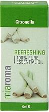 Parfums et Produits cosmétiques Huile essentielle de citronnelle 100% pure - Holland & Barrett Miaroma Citronella Pure Essential Oil