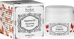Parfums et Produits cosmétiques Crème à l'huile de millepertuis pour visage - Sostar Natural Rejuvenating Moisturizer Face Cream with Hypericum Oil