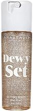 Parfums et Produits cosmétiques Spray fixateur de maquillage - Anastasia Beverly Hills Dewy Set Setting Spray