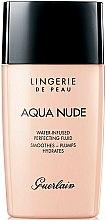 Parfums et Produits cosmétiques Fluide hydratant pour visage - Guerlain Lingerie de Peau Aqua Nude
