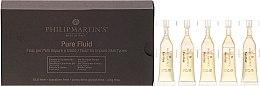 Parfums et Produits cosmétiques Fluide en ampoules à l'extrait de camomille pour visage, peaux grasses - Philip Martin's Pure Fluid