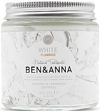 Parfums et Produits cosmétiques Dentifrice blanchissant à l'extrait d'ananas - Ben & Anna White Fluoride Toothpaste