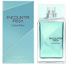 Parfums et Produits cosmétiques Calvin Klein Encounter Fresh - Eau de Toilette