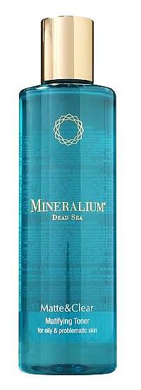 Lotion tonique aux minéraux de la mer Morte pour visage - Minerallium Matifying Toner