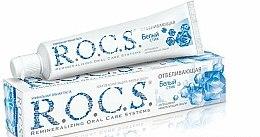Parfums et Produits cosmétiques Pâte dentifrice blanchissante - R.O.C.S.