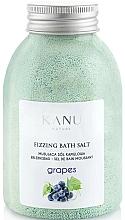 Parfums et Produits cosmétiques Sel de bain moussant Raisin - Kanu Nature Grapes Fizzing Bath Salt