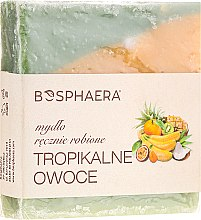 """Parfums et Produits cosmétiques Savon naturel """"Fruits tropicaux"""" - Bosphaera"""