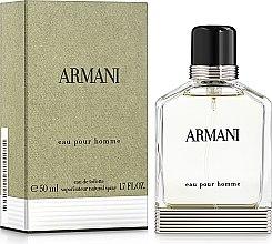 Parfums et Produits cosmétiques Giorgio Armani Armani Pour Homme - Eau de toilette