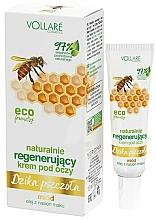 Parfums et Produits cosmétiques Crème au miel contour des yeux - Vollare