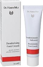 Parfums et Produits cosmétiques Crème déodorante aux huiles de romarin et sauge pour les pieds - Dr. Hauschka Deodorizing Foot Cream