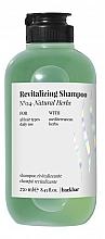 Parfums et Produits cosmétiques Shampooing aux herbes méditerranéennes - Farmavita Back Bar No4 Revitalizing Shampoo Natural Herbs
