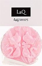 Parfums et Produits cosmétiques Savon naturel cerise, Deux chats, rose - LaQ Happy Soaps