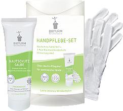 Parfums et Produits cosmétiques Bioturm Hand Care Set - Set (crème pour mains/50ml + gants)